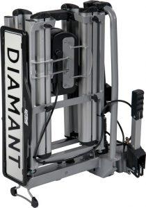 Pro User Diamant fietsendrager 2 fietsen opgevouwen