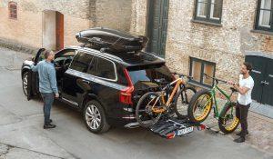 Fietsendrager voor 3 fietsen