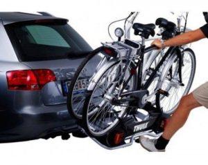 fietsendrager elektrische fiets thule